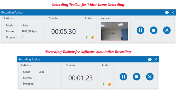 ActivePresenter quay video màn hình